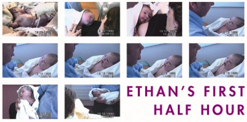 Ethan's First Half Hour