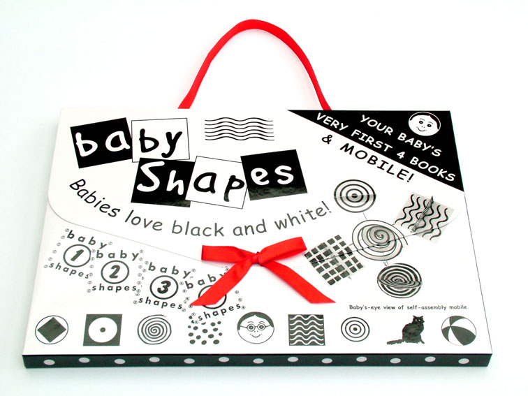 Social baby babyshapes books and mobile for Baby shapes mobile