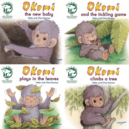 Okomi set of 4 books