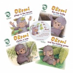Okomi set of 4 books & CD