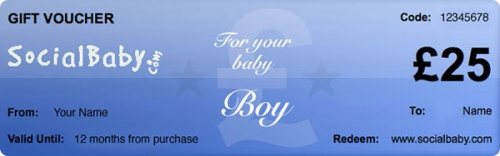 Gift Voucher For a Boy