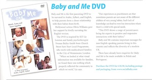 baby and me dvd review royal college of speech and language therapists