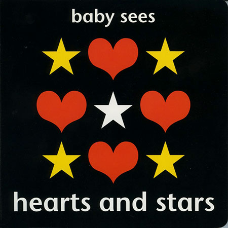 Baby Sees - Hearts & Stars