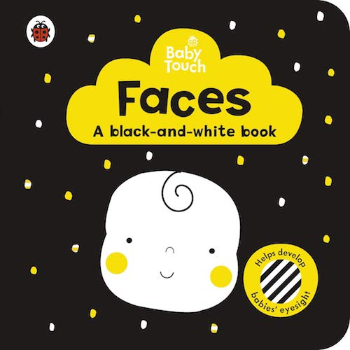 Baby Touch: Faces: a black-and-white book