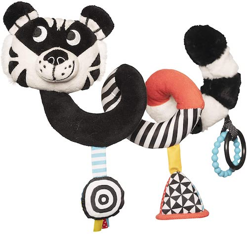 Tiger Spiral Cot and Travel Toy