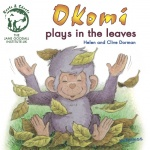 Okomi Plays in the Leaves